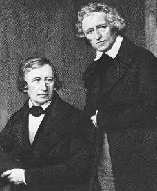 The Brothers Grimm. Courtesy of the Library of Congress.