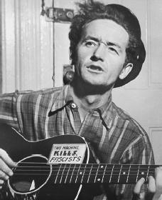 Woody Guthrie. Courtesy of the Library of Congress.