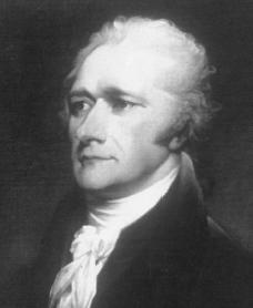 Alexander Hamilton. Courtesy of the Smithsonian Institution.