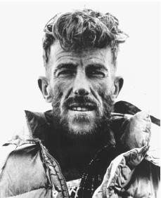 Edmund Hillary. Reproduced by permission of the Corbis Corporation.