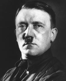 Adolf Hitler. Reproduced by permission of the Corbis Corporation.