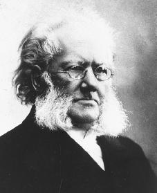 Henrik Ibsen. Reproduced by permission of AP/Wide World Photos.