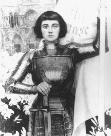Joan of Arc. Reproduced by permission of the Corbis Corporation.