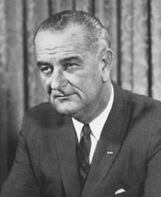 Lyndon B. Johnson. Courtesy of the Library of Congress.