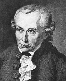 In 1783 Kant restated the main