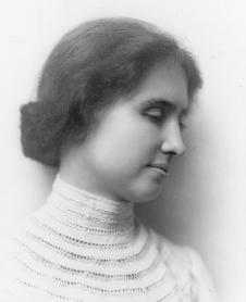 Helen Keller. Courtesy of the Library of Congress.
