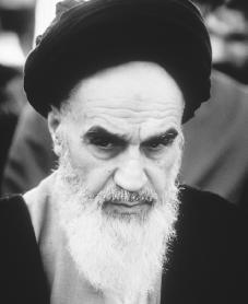 Ayatollah Khomeini. Reproduced by permission of Getty Images.