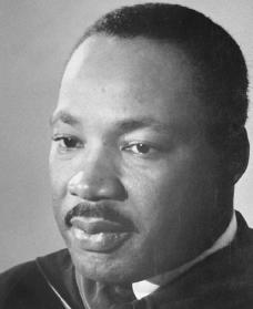 Martin Luther King Jr. Courtesy of the Library of Congress.