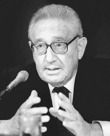 Henry Kissinger. Reproduced by permission of AP/Wide World Photos.