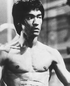 Bruce Lee. Reproduced by permission of Archive Photos, Inc.
