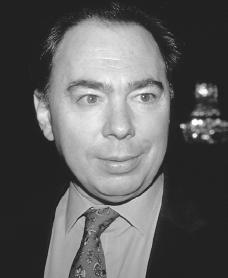 Andrew Lloyd Webber. Reproduced by permission of Archive Photos, Inc.