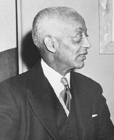 Alain Locke. Courtesy of the Library of Congress.