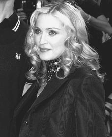 Madonna. Reproduced by permission of the Corbis Corporation.