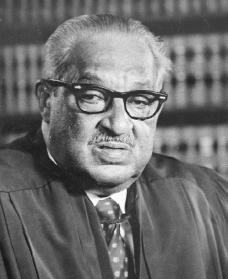 Thurgood Marshall. Courtesy of the Library of Congress.
