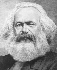 Karl Marx. Courtesy of the Library of Congress.