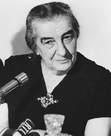 Golda Meir. Reproduced by permission of AP/Wide World Photos.