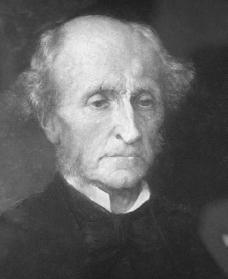 John Stuart Mill. Courtesy of the Library of Congress.