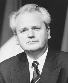 Slobodan Milosevic. Reproduced by permission of Archive Photos, Inc.