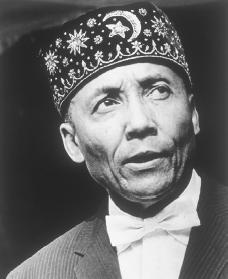 Elijah Muhammad. Reproduced by permission of Archive Photos, Inc.