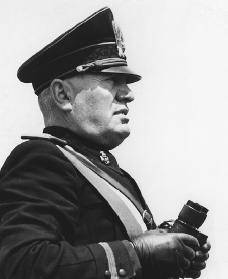 Benito Mussolini. Reproduced by permission of AP/Wide World Photos.