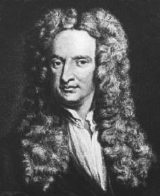 Isaac Newton. Courtesy of the Library of Congress.