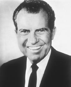 Richard Nixon. Courtesy of the Library of Congress.