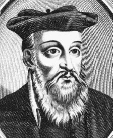 Nostradamus. Reproduced by permission of the Corbis Corporation.