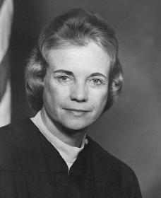 Sandra Day O'Connor. Courtesy of the Library of Congress.