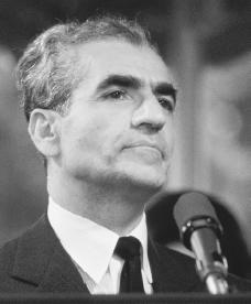 Mohammad Reza Pahlavi. Reproduced by permission of the Corbis Corporation.
