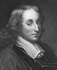 Blaise Pascal. Courtesy of the Library of Congress.