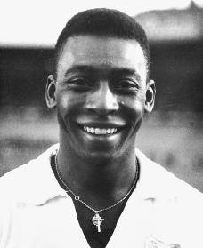 Pelé. Reproduced by permission of Archive Photos, Inc.