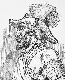 Juan Ponce de León. Courtesy of the Library of Congress.