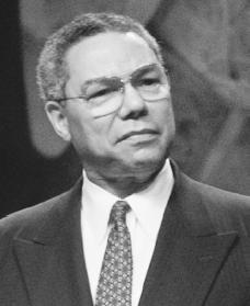Colin Powell. Reproduced by permission of AP/Wide World Photos.