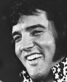 Elvis Presley. Reproduced by permission of the Corbis Corporation.