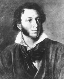 Aleksandr Pushkin. Reproduced by permission of the Corbis Corporation.