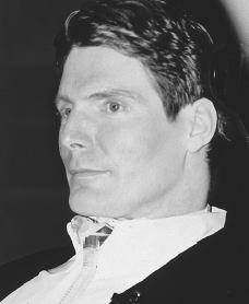 Christopher Reeve. Reproduced by permission of Archive Photos, Inc.