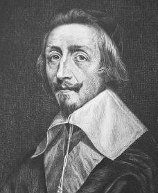 Cardinal Richelieu. Courtesy of the Library of Congress.