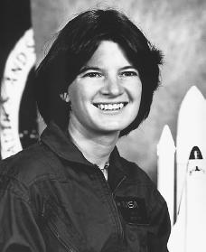 Sally Ride. Courtesy of the U.S. National Aeronautics and Space Administration.