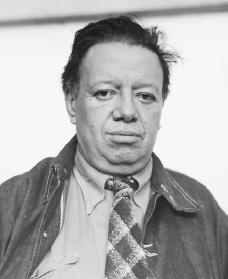 Diego Rivera. Reproduced by permission of AP/Wide World Photos.