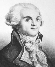 Maximilien de Robespierre. Courtesy of the Library of Congress.