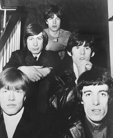 The Rolling Stones. Courtesy of the Library of Congress.