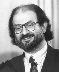 Salman Rushdie. Reproduced by permission of AP/Wide World Photos.
