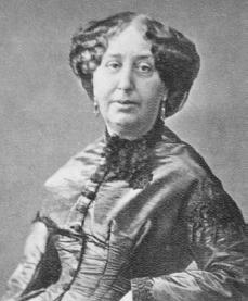George Sand. Courtesy of the Library of Congress.