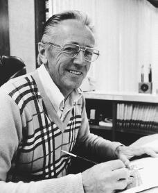 Charles M. Schulz. Reproduced by permission of AP/Wide World Photos.