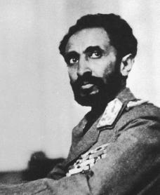Haile Selassie. Courtesy of the Library of Congress.