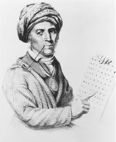 Sequoyah. Courtesy of the Library of Congress.
