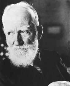 George Bernard Shaw. Courtesy of the Library of Congress.