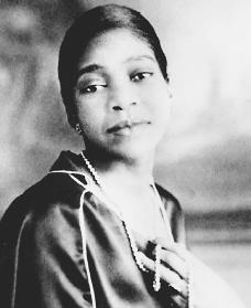 Bessie Smith. Reproduced by permission of the Corbis Corporation.