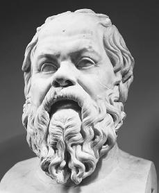 Socrates. Reproduced by permission of the Corbis Corporation.