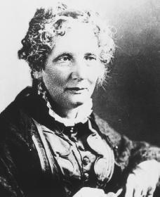 Harriet Beecher Stowe. Courtesy of the National Archives and Records Administration.